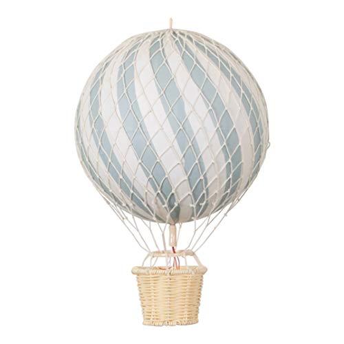 Filibabba® - Globo de aire caliente, tamaño grande, 20 cm, diseño danés, decoración para habitación de bebé y habitación infantil verde menta Talla:20 cm