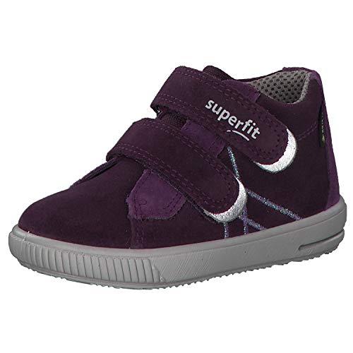 Superfit Baby Mädchen Moppy Gore-Tex Sneaker, Violett (Lila 90), 28 EU
