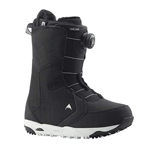 Burton Limelight BOA Snowboard Boots Womens Sz 7 Black