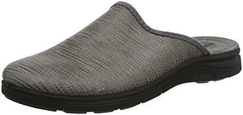 Rohde 4620, Zapatillas de Estar por casa para Hombre, Beige (Leinen 17), 43 EU