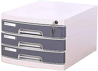 Dépôt en Plastique Cabinet Office Bureau Mobile de données Boîte de Rangement avec Verrouillage à Grande capacité de Stock...