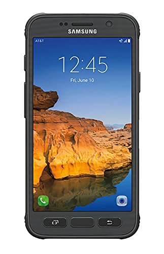 Samsung Galaxy S7 ACTIVE G891A 32GB Unlocked GSM Shatter-Resistant, Extremely Durable Smartphone w/ 12MP Camera - Titanium Gray (Renewed)