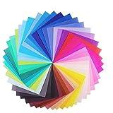 YumSur Papel para papiroflexia 100 hojas,Papel de Origami Set para niños y adultos 15 * 15cm,origami vívido de doble cara,50 Colores,adecuado para niños/clase de manualidades escolares (15 * 15cm)