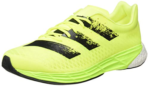 adidas Adizero Pro, Zapatillas para Correr Hombre, Solar Yellow/Core Black/FTWR White, 43 1/3 EU ⭐