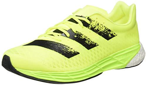 adidas Adizero Pro, Zapatillas para Correr Hombre, Solar Yellow/Core Black/FTWR White, 43 1/3 EU ✅