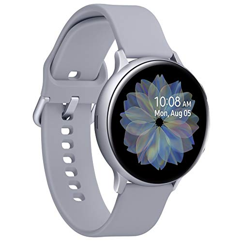 "Samsung Galaxy Watch Active 2 smartwatch Argento SAMOLED 3,43 cm (1.35"") GPS (satellitare) Galaxy Watch Active 2, 3,43 cm (1.35""), SAMOLED, Touch Screen, GPS (satellitare), 36 g, Argento"