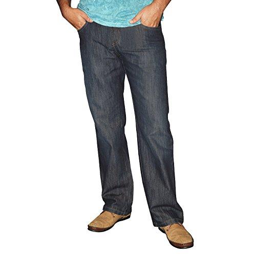 STOOKER Memphis/Mike/Montana Herren 5-Pocket Jeans Hose (1170)(36/32,Dark Blue Washed - 7512)