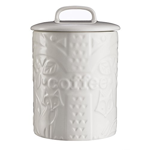 Durable Stoneware Canister with Airtight Lid
