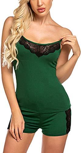 Fire Figure Women's Babydoll Nighty for Honeymoon/Night Wear for Women/Nightwear Super Soft Net Babydoll Dress Sleepwear Naughty (Free Size) (Green)