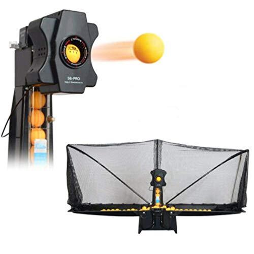 DSGYZQ Máquina de Tenis automática de Mesa de Ping-Pong de 50 vatios para para Entrenamiento de práctica