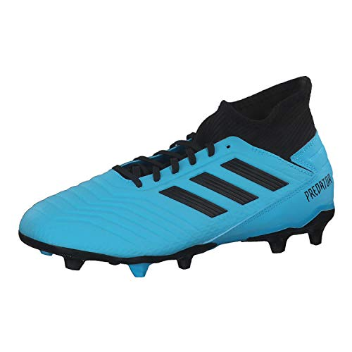 adidas Performance Predator 19.3 FG Fußballschuh Herren hellblau/schwarz, 11.5 UK - 46 2/3 EU - 12 US