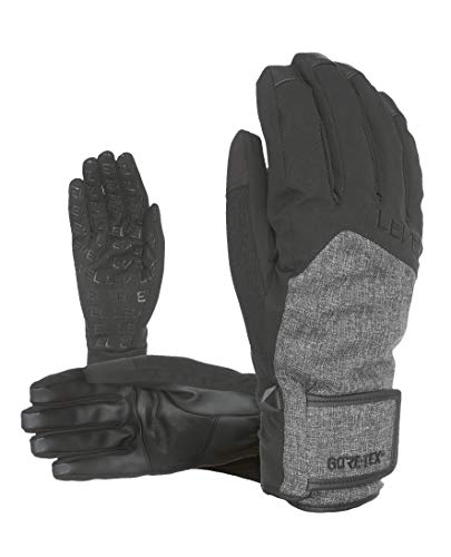 Level Herren Rescue Gore-Tex Handschuhe, Black/Grey, 9
