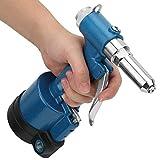 Pistola de remache neumática fácil de usar, 2.4-4.0mm con metal 5.0mm 2.4-5.0mm para clavos de aluminio/hierro/acero inoxidable