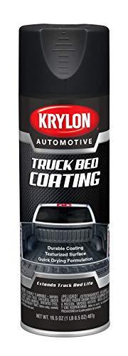 Krylon Automotive Truck Bed Coating, Black, 16.5 oz, KA8619007