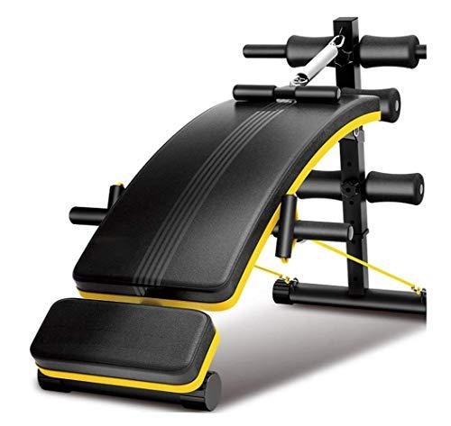 Sport Gym Workout Banc Déclin Slant Conseil pliant Sit Up Banc Banc de musculation réglable fitness Fitness exercice d'entraînement musculaire abdominale Conseil Haltère Banc rangement facile jianyou