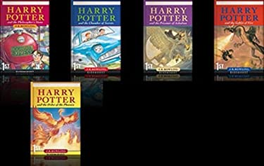 Harry Potter 1-5 paperback box set