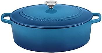 Cuisinart Oval 7 Qt Casserole (Gradient Blue)