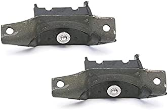 2-Bolt Rubber Motor Mounts, Fits Ford Small Block