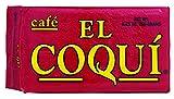 Dark Roast Espresso Coffee - from Cafe El Coquí. (8.83 oz) Premium Puerto Rican Style Ground Coffee, Vacuum Pack 250g