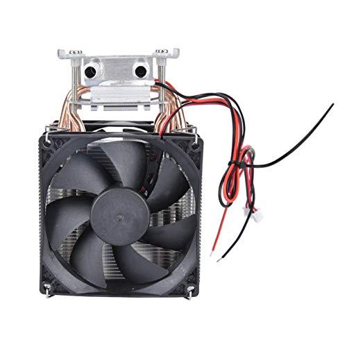 Astibym Semiconductor Radiador Termoeléctrico Peltier Enfriador Sistema de enfriamiento con Ventilador Refrigerador de semiconductores 108W enfriamiento de Agua por
