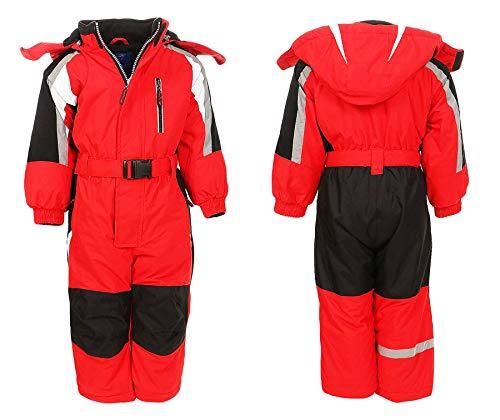 Moderei Auswahl an Schneeanzug | Schneeoverall Skianzug | Skioverall Snowboard Unisex | Jungen | Mädchen | Herren | Damen Schneeanzug Hauptfarbe-Rot (122) …