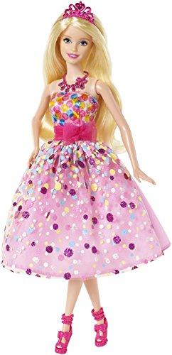 Barbie -Bambola Principessa Buon Compleanno