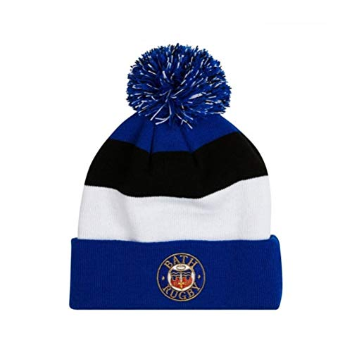 Bath Rugby Acrylic Bobble Hat 17/18 - Surf The Web