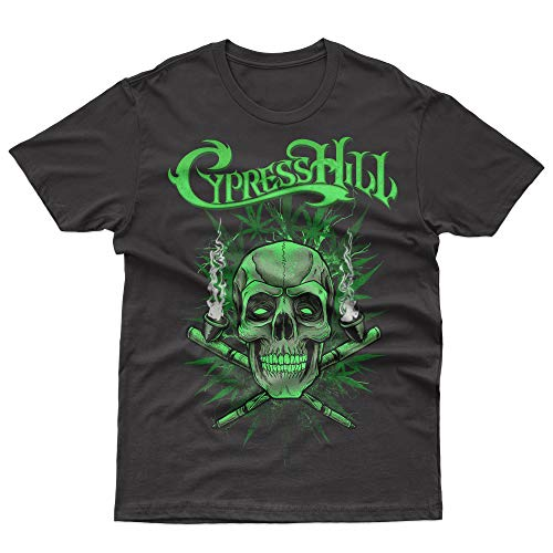 Cypress Hill 420 T-Shirt Official Licensed Uomo, XX-Large, Nero
