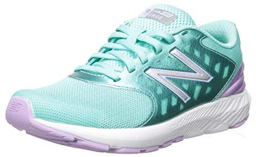 New Balance Girls' Urge V2 FuelCore Running Shoe, tidepool/dark violet, 5.5 M US Big Kid