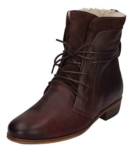 Hub Hally L81 Wool Dark Brown/Natural, Größe:40