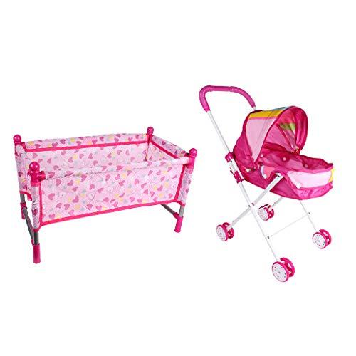 sharprepublic 2pcs Muebles de Simulación Bebé Infantil