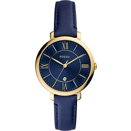 Fossil Womens Analog Quartz Uhr mit Leather Armband ES5023