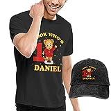 SOTTK Camisetas y Tops Hombre Polos y Camisas, Mens Classic Daniel Tiger's...