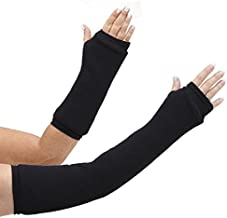 CastCoverz! Designer Arm Cast Cover - Black - Large Short: 13