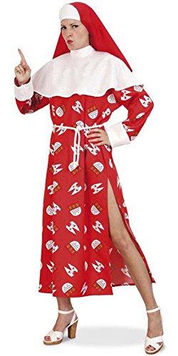 Unbekannt PARTY DISCOUNT ® Damen-Kostüm Nonne Köln, Kleid und Haube, Gr. 38