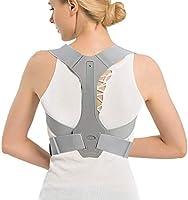 Back braces Posture Corrector Adjustable Back Shoulder Spinal Support Belts for Men Women, Physical Therapy Brace for...