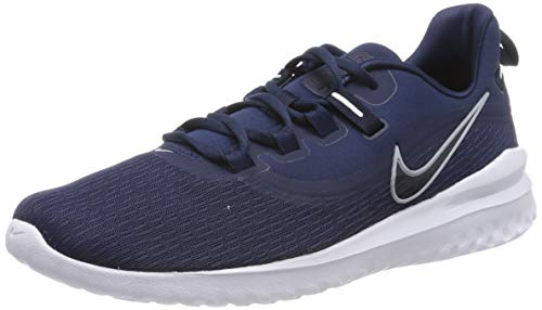 Nike Renew Rival 2, Zapatillas de Running para Hombre, Azul (Midnight Navy/Wolf Grey/Obsidian/White 401), 47 EU