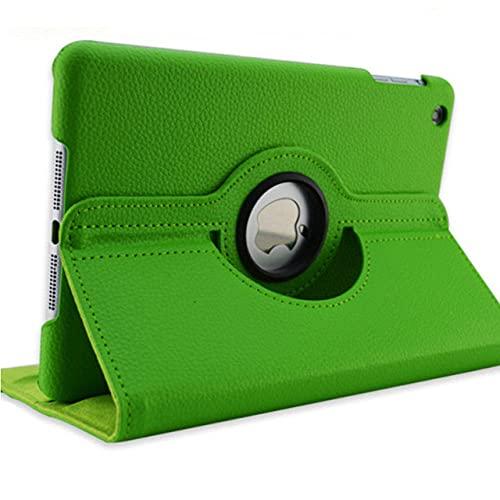 LIUCHEN Funda de tabletafunda para Samsung Galaxy Tab 4 7.0inch T230 T231 T235 360 Rotation Flip Funda de Cuero PU para Tab 4 7.0, Verde