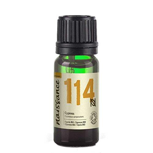 Naissance Olio di Cipresso Biologico – Olio Essenziale Puro al 100% - 10ml