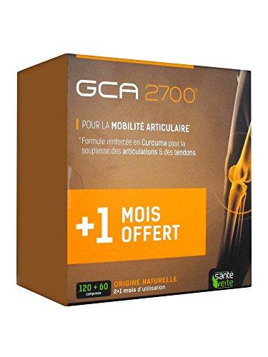 Gca 2700 lot de 2 boites de 60 comprimés + 1 boite offerte
