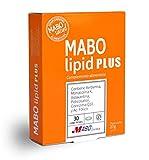 MABO Lipid Plus 30 cpr - Complemento Alimenticio para Control de Colesterol y Triglicéridos con Berberis Aristata Arroz Rojo Fermentado Policosanol Coenzima Q10 Astaxantina Acido Fólico (1 Mes)