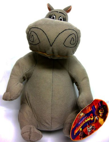 Madagascar 3 Europe's Mosted Wanted 12' Gloria The Hippo Plush Figure Doll Toy