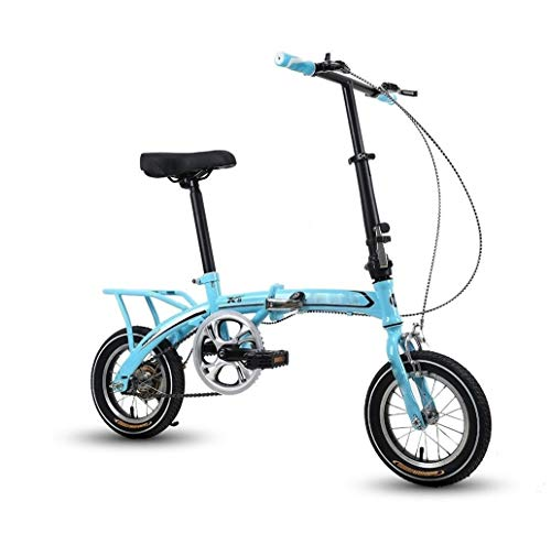 North cool Las Bicicletas Plegables For Adultos, 12in City Mini Plegable Compacto De Bicicletas, Bicicletas, Viajeros Urbanos, Bicicleta Plegable De Cercanías ( Color : C , Size : 12IN )