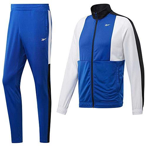 Reebok Myt Tracksuit Sportanzug für Herren S humblu (blau)