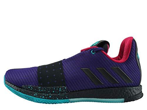 adidas Harden Vol. 3, Zapatillas de Deporte Hombre, Morado (Púruni/Negbás/Agalre 000), 48 EU