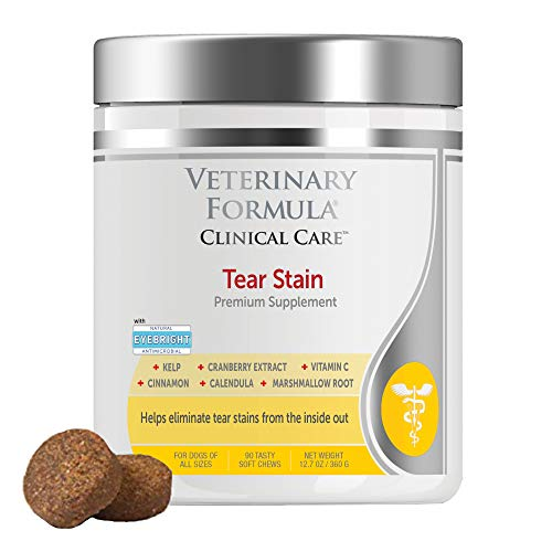 Veterinary Formula Clinical Care  Tear Stain Premium Dog Supplement  90 Soft Chews