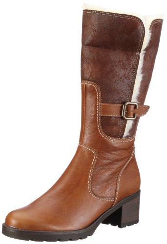 Gabor Shoes Damen Comfort Stiefel, Braun/copper/teak, 42 EU