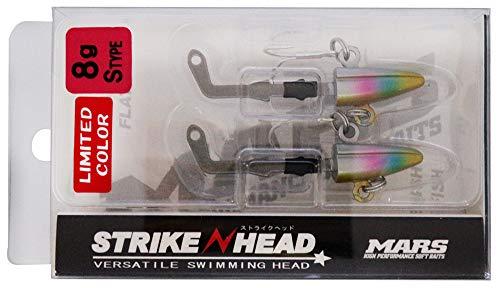 MARS(マーズ) ジグヘッド STRIKE HEAD S 8g ゴールドキャンディ-
