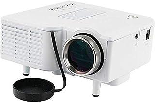 Star White Mini Portable HD LED Projector Home Cinema Theater PC Laptop HDMI AV VGA SD USB
