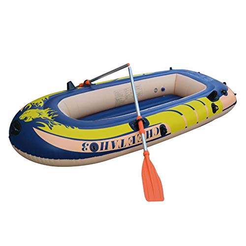 Sale!! L&WB Kayak Inflatable Thick, Wear-Resistant Fishing Boat, Fast Canoe,22711038cm